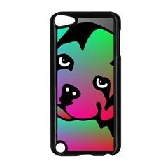 Dog Apple Ipod Touch 5 Case (black) by Siebenhuehner