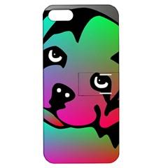 Dog Apple Iphone 5 Hardshell Case With Stand by Siebenhuehner