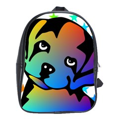Dog School Bag (Large) by Siebenhuehner