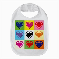 Hearts Bib by Siebenhuehner