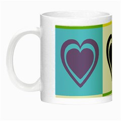 Hearts Glow In The Dark Mug by Siebenhuehner