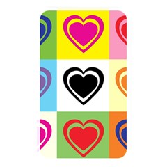 Hearts Memory Card Reader (rectangular) by Siebenhuehner