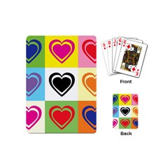 Hearts Playing Cards (mini) by Siebenhuehner