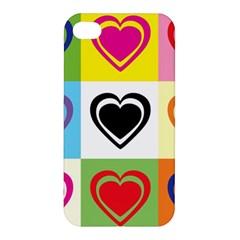 Hearts Apple Iphone 4/4s Hardshell Case by Siebenhuehner