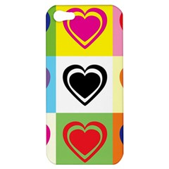 Hearts Apple Iphone 5 Hardshell Case by Siebenhuehner