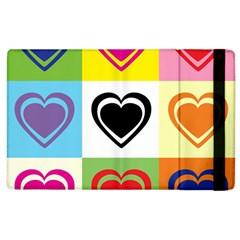Hearts Apple Ipad 3/4 Flip Case by Siebenhuehner