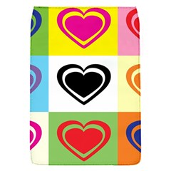 Hearts Removable Flap Cover (small) by Siebenhuehner