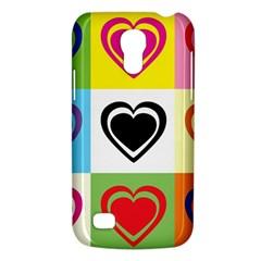 Hearts Samsung Galaxy S4 Mini (gt I9190) Hardshell Case  by Siebenhuehner