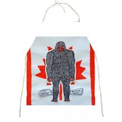 Big Foot A, Canada Flag Apron by creationtruth