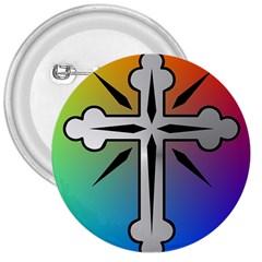 Cross 3  Button by Siebenhuehner