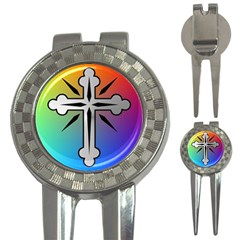 Cross Golf Pitchfork & Ball Marker