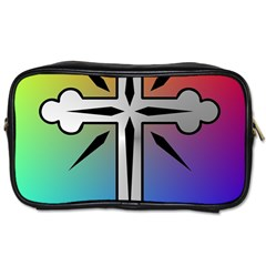 Cross Travel Toiletry Bag (two Sides) by Siebenhuehner