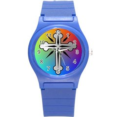 Cross Plastic Sport Watch (small) by Siebenhuehner