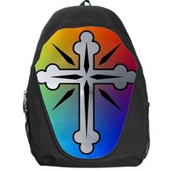 Cross Backpack Bag by Siebenhuehner