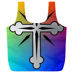 Cross Reusable Bag (xl) by Siebenhuehner