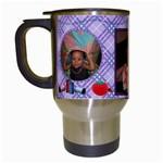 sew cup - Travel Mug (White)