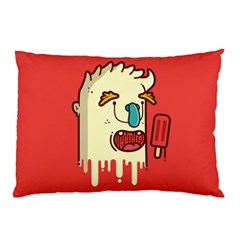 Eat The Popsicle And Relax Pillow Case by Failuretalent