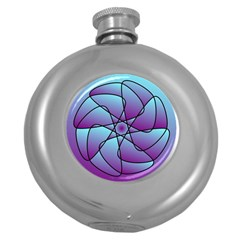 Pattern Hip Flask (round) by Siebenhuehner
