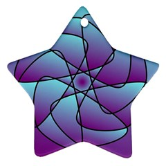 Pattern Star Ornament (two Sides) by Siebenhuehner