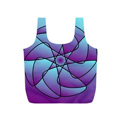 Pattern Reusable Bag (s) by Siebenhuehner
