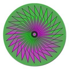Pattern Magnet 5  (round) by Siebenhuehner