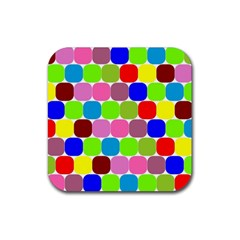 Color Drink Coasters 4 Pack (square) by Siebenhuehner