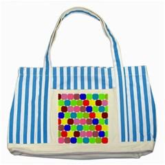 Color Blue Striped Tote Bag by Siebenhuehner