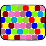 Color Mini Fleece Blanket (Two Sided) 35 x27 Blanket Front