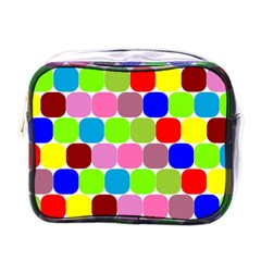 Color Mini Travel Toiletry Bag (one Side) by Siebenhuehner