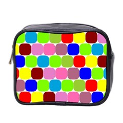 Color Mini Travel Toiletry Bag (two Sides) by Siebenhuehner