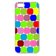 Color Apple Seamless Iphone 5 Case (clear) by Siebenhuehner