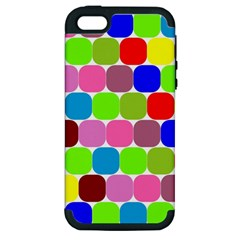 Color Apple Iphone 5 Hardshell Case (pc+silicone) by Siebenhuehner