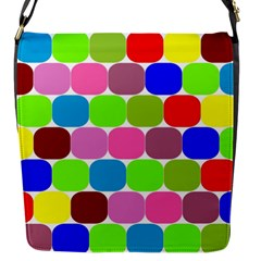 Color Flap Closure Messenger Bag (small) by Siebenhuehner