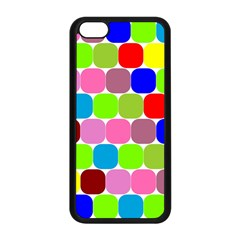 Color Apple Iphone 5c Seamless Case (black) by Siebenhuehner