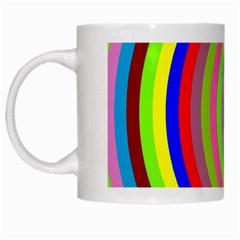 Color White Coffee Mug by Siebenhuehner