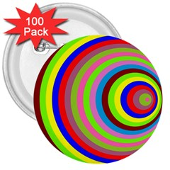 Color 3  Button (100 Pack) by Siebenhuehner
