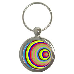 Color Key Chain (round) by Siebenhuehner