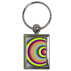 Color Key Chain (rectangle) by Siebenhuehner