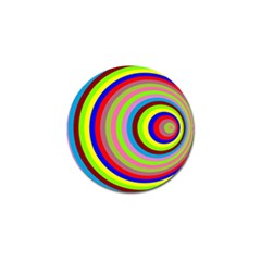 Color Golf Ball Marker 4 Pack by Siebenhuehner