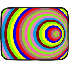 Color Mini Fleece Blanket (two Sided) by Siebenhuehner