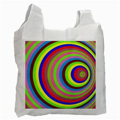 Color White Reusable Bag (two Sides) by Siebenhuehner