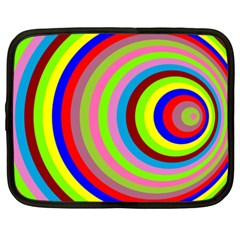 Color Netbook Sleeve (xxl) by Siebenhuehner