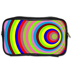 Color Travel Toiletry Bag (two Sides) by Siebenhuehner