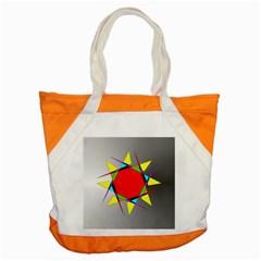 Star Accent Tote Bag by Siebenhuehner