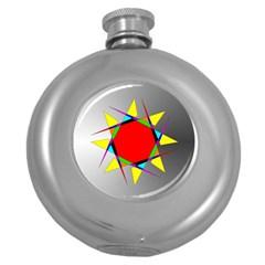 Star Hip Flask (round) by Siebenhuehner