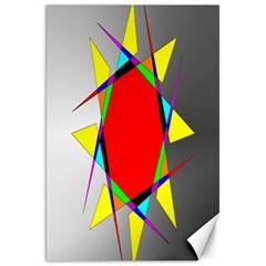 Star Canvas 20  X 30  (unframed) by Siebenhuehner