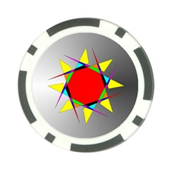 Star Poker Chip by Siebenhuehner