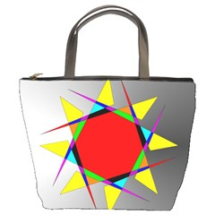 Star Bucket Handbag by Siebenhuehner