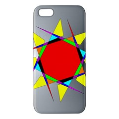 Star Apple Iphone 5 Premium Hardshell Case by Siebenhuehner