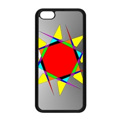 Star Apple Iphone 5c Seamless Case (black) by Siebenhuehner